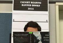 Caught Reading Banned Books 2015 / Celebration photos from the Banned Books Week at IVC