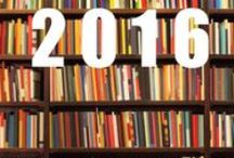 Books Read in 2016 / These are the books that I finished reading in 2016