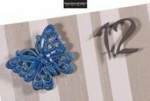 Butterfly Collection / Orologi d'arredo, realizzati artigianalmente