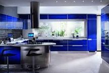 """Interior Design~Blue / """"Perfection is achieved, not when there is nothing more to add, but when there is nothing left to take away."""""""