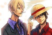 One piece: Monster Trio / The Captain Monkey D. Luffy The Swordsman Roronoa Zoro The Chef Vinsmoke Sanji