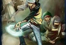 """One Piece: Trafalgar D. Water Law / """"You can't see the whole picture until you look at it from the outside."""""""