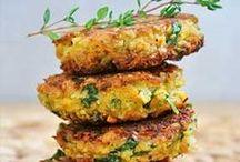 Yummy Pattie Recipes / Falafel, Veggie, Quinoa, Lentil and Bean Patties