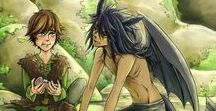 """HTTYD / """"There were dragons when I was a boy."""""""