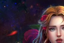 """Beauty and the Beast / """"Tale as old as time."""""""