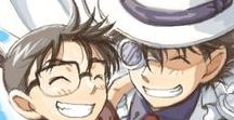 """Detective Conan / """"The sea's blue reflects because of the sky's blue. Just like detectives and thieves. We're all toying with the human mind. But the one who pries for others' secrets is the one who's truly impolite."""""""