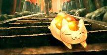 "Natsume yuujinchou: Nyanko-sensei / ""This is not my true form!  My true form is quite elegant!"""