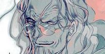 """One piece: Silvers Rayleigh / """"Maybe nothing in this world happens by accident. As everything happens for a reason, our destiny slowly takes form..."""""""