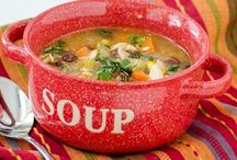 Food - Soups / by Sue Sewell