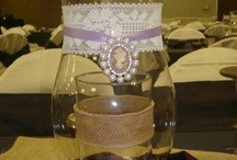 Centerpieces by The Wedding Hub / by The Wedding Hub