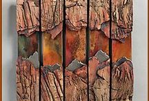 textures and shapes / by Sandi Hughey