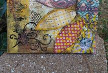 altered ART / mixed media