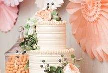 Wedding Colors And Decor / I want mint and grapefruit/peach! So prettty! / by Jessi Queen