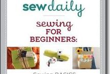 Learning to sew / by Sue Sewell