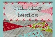 Quilting tutorials / by Sue Sewell