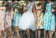 the spring wedding inspiration / Spring wedding ideas and inspiration