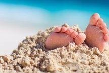 Family Beach Fun 101 / #beach #beachideas #beachfun #beachsafety #beachtips #beachwithkids #beachwithbaby #beachwithtoddlers #vacation #staycation