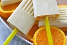 Popsicles / Popsicle recipes for plastic popsicle makers and Zoku!