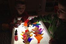 Light Table Art / Crafts