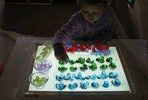 Light Table Sorting / Light Table Sorting / Patterning / Matching / Stacking