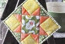 Sew-Potholders / by Sue Sewell