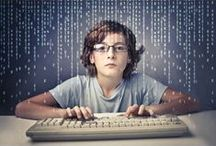 Coding For Kids / Great tutorials for kids to learn to design websites.  HTML for kids.