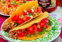 Tex-Mex / Tacos, Burritos, Quesadillas, Enchiladas, Chalupas, Flautas, Chimichangas, etc.