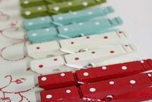 Clothespins & Hangers / many  ways to use or decorate clothespins and hangers