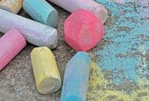 Epic Chalk Ideas / by Kristen (Epic Childhood)