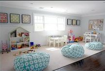Epic Playroom Ideas / creative, inspiring, amazing playrooms