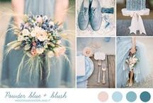 2016 wedding trends - powder blue / Weddings Powder Blue, Cinderella Blue, Fairytale Wedding Ideas www.revivalphotography.com