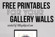 the printable inspiration / freebies and printables