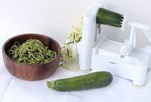 Veggie Noodles / Spiralized noodles,inspiralized,  zoodles. etc.
