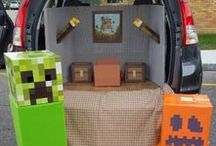 Trunk or Treat Ideas / Trunk or Treat decoration ideas for Creative Homeschoolers co-op of North Orlando