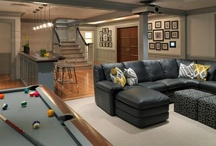 Basement design ideas / If you're interested in finishing or remodeling your basement, get inspiration from our completed projects