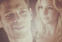 The Beauty of Klaroline ❤ / I do like Forwood, but you just can't compete with Klaus & Caroline.