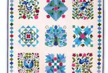 WOOL | Applique Kits & BOMs / Stitch by Stitch, Block by Block, your Wool Applique Quilts will warm the hearts of all!