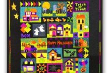 SPOOKED | Halloween Chills / A little bit creepy and a whole lot of fun, this board is filled with Halloween Quilts, Ghostly Projects, and plain Witchy Fun!