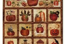 AUTUMN | It's Harvest Time! / Want to feel all warm and cozy? Join us as we celebrate the most colorful season of all, AUTUMN!  Harvest Quilts, Fall Projects, & Earthtone Fabrics to get you in the mood.