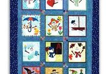 MELT | Snowman Dreams / Snowmen can definitely melt your heart.  They especially make quilts, pillows and home dec really 'cozy'!