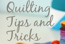 LEARN | Quilt Tips  & Tricks / This is the perfect place to come to learn quilting tips, hints and tricks from the experts ... Pinners just like you!