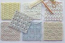 Crochet&more - RACCOLTA PUNTI / Raccolta di punti per uncinetto e maglia...utilissima all'accorrenza!
