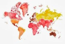 Explore the world / Travel inspiration
