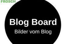 Nähfrosch Blog Board / Fotowand von meinem Blog www.naehfrosch.de. Hier erfährst du, wenn es etwas neues auf dem Blog gibt!  Here you can see whats new on my blog www.naehfrosch.de!