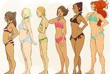 womens body