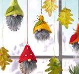 Halloween und Herbst Ideen / Schöne Dinge rund um Herbst und Halloween! Bastelideen auch für Kinder!