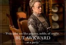 DOWNTON | Abbey Fun & Style / Welcome to Homespun Hearth's Downton Abbey Pinterest page! We love the fun quotes, style, and people of Downton and hope to bring you into the fold!
