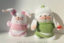 Cucito - Pupazzi, bambole, varie / Pupazzi, bambole, varie