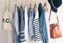 A girl's closet