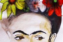 Aquarela / Todas as obras fantasticas de artistas variados que utilizam aquarela.